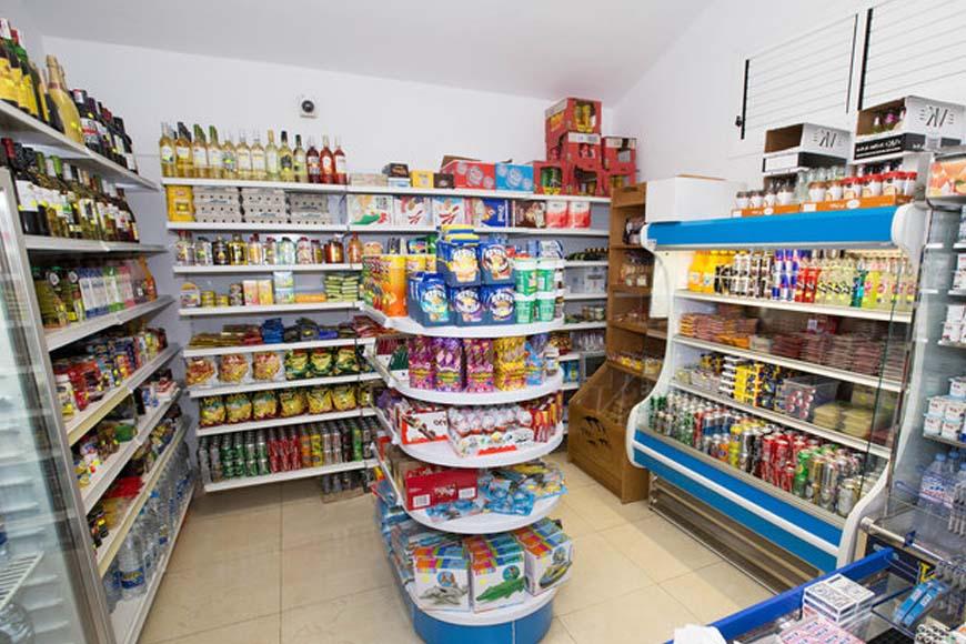 arredamento negozio alimentare